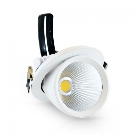 Spot Orientable LED COB Escargot 10W