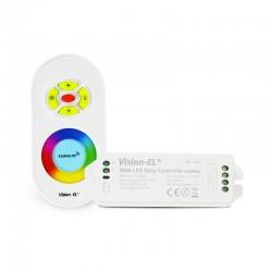 Contrôleur RGB 12V 216 Watts + Télécommande RF