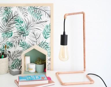 10 Idées de luminaires en cuivre